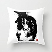 20 X 20 Inches / 50 By 50 Cm Dogs Throw Cushion Covers ,twin Sides Ornament And Gift To Adults,lover,kids,chair,coffee House,bar Seat (House Dog Ornament)