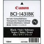 Canon BJ-W 6400 D - Original Canon / 8963A001 / BCI-1431BK / Imageprograf6200 / Tinte Black -