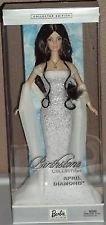 Birthstone Barbie B3412 Monat April -