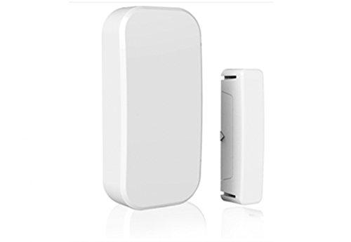 1 x Ultra DO25 Home Door Ventana Sensor de Contacto Inalámbrico para Alarmas contra Robo Superficie Magnética Interruptor de Alerta de Intruso con WiFi para Sistemas de Alarma De 433mhz