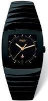 Rado Men's Black Ceramic Band & Case S. Sapphire Automatic Watch R13663172