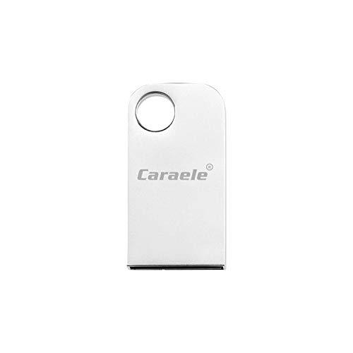 USB-Sticks Thumb Drive Memory Stick aus Metall mit wasserdichtem Schlüsselring (256GB) (256 Pen Gb Drive Usb)