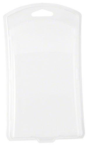 Klar Kunststoff Clamshell Paket, geschwungene Vorderseite, 17,8cm H x 10,3cm–11,1cm W x 4,1cm D