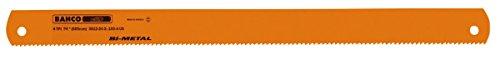 Bahco lAME sANDFLEX Scie Bimet kasto 500 x 50 x 2.50 mm dent 6 3809 – 500 – 50 – 2.50 – 6-KA x10 unités
