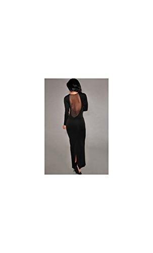 Mela Proibita - Robe - Colonne - Femme Noir