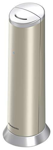 Panasonic Kx-tgk220gn Design-telefon Mit Anrufbeantworter & Wecker, Haustelefon (Schnurlos), Hd-telefonie, Champagner