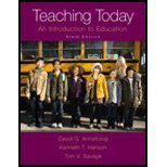 Teaching Today: An Introduction to Education by David G. Armstrong (2014-03-15)