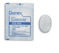 Dumex surecare sterile eye pads, 2 5/8 In X 1 5/8 In, Model : DE82911 - 25 Ea