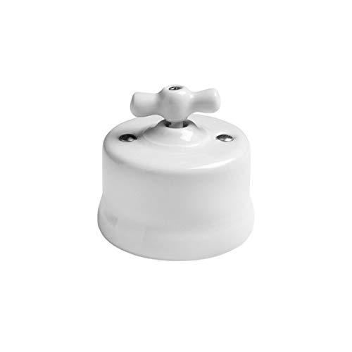 Interruptor unipolar con lazo de porcelana GARBY 67300