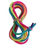 Kidz Fitness B&D Supply Chinesisches Springseil für Kinder, elastisches Fitnessspiel, Regenbogenfarben, 8 Foot (Single)
