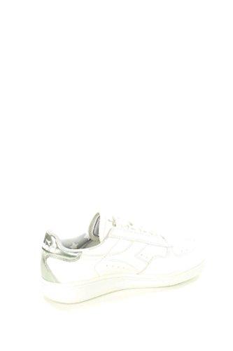 DIADORA heritage B.ELITE LIQUID sneakers donna in pelle Bianco-argento