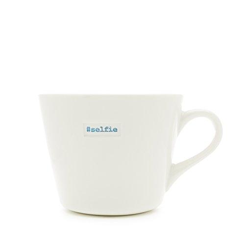 MAKE International Word Range Bucket Tasse mit Dem Aufdruck