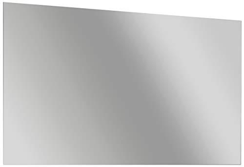 FACKELMANN Spiegel/Wandspiegelelement mit Befestigung/Maße (B x H x T): ca. 120 x 68 x 2 cm/hochwertiger, moderner Spiegel/quer verwendbarer Badezimmerspiegel/Breite 120 cm (Rechteckiger Spiegel Ohne Rahmen)