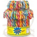Candy canes, fruits, bte de 1 kilo,
