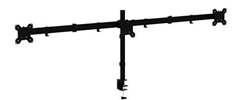 """1home 13\""""-24\"""" Monitor-Tischhalterung für LED und LCD Monitor Schreibtisch Monitorständer neigbar 180° schwenkbar 360° höhenverstellbar 10 kg für jeden Monitor (3 Monitore)"""