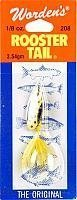 yakima-wordens-rooster-tail-lure-yellow-dalmation-1-8-oz-by-south-bend-sporting-goods