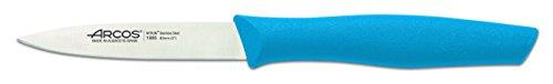 Arcos 188 Cuchillo mondador, Acero/plástico, Azul, 20x2x2 cm