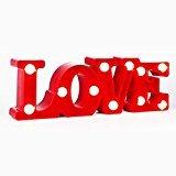 Etbotu 3W LED Small Night Light Europe Creative Love Letter For Valentine