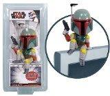 Preisvergleich Produktbild Star Wars Boba-Fett-Figur, zum Setzen auf den Computer-Bildschirm, Wackelkopf-Funktion