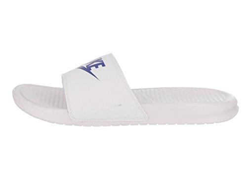 Nike Benassi Jdi, Herren Flip Flop Blanc