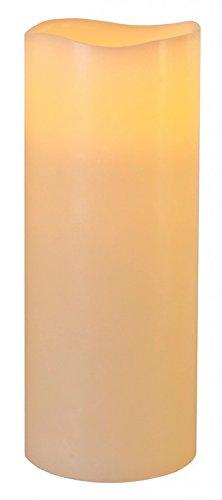 Star 25x 10cm vela de cera con luz LED