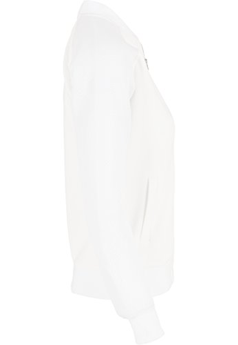URBAN CLASSICS - Ladies Scuba Raglan Mesh Jacket (offwhite) Offwhite