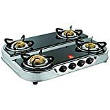 JSM Brothers 4 Burner Double Decker Gas Stove