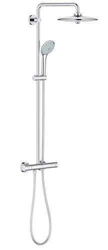 GROHE Euphoria System 260 | Brausen & Duschsysteme - Duschsystem mit Thermostatbatterie für die Wandmontage | chrom | 27296002