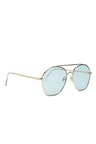 HAKIBNK Sonnenbrille Damen Geometrische Flieger Sonnenbrille Sonnenbrille Weiblich
