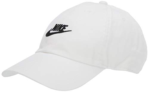 Imagen de nike u nsw h86 cap futura washed hat, unisex adulto, white/ black , misc
