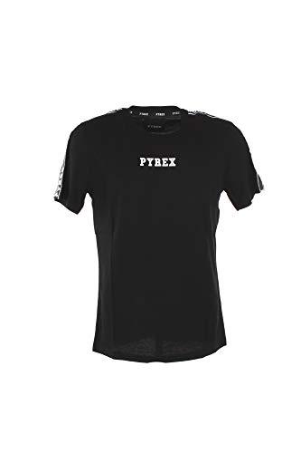 Pyrex t-shirt uomo maglia unisex jersey 40060 xl nero