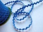 Cinta zigzag-trencilla color Azulón