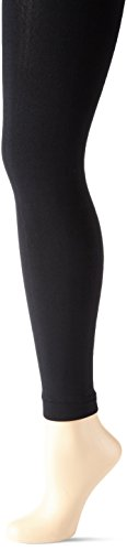 ELBEO Damen Leggings 100 Soft & Strumpfhose, 100 DEN, schwarz 3800, 46 (Herstellergröße: 44-46) Serviette De Li