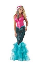 Kostüm für Damen - XL (Deluxe Meerjungfrau Kostüme)