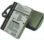 Cingular 6500, 8525, 35H00060-04M, HERM160, HERM161, HERM300, PA16A 3.7V 3000mAh Extended Battery + cover