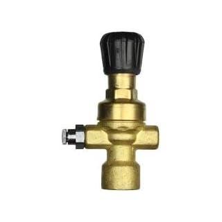 Futuris 070570 Regulator for Disposable Welding Gas Cylinders, Brass