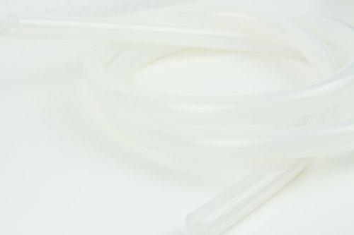 Shisha Wasserpfeifen Silikonschlauch verschiedene Farben und Größen (150, Transparent)