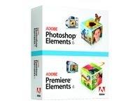 Adobe Photoshop Elements 6 plus Adobe Premiere Elements 4 - Ensemble de mise à niveau - 1 utilisateur - DVD - Win - français