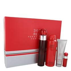 Perry Ellis 360 Red Gift Set By Perry Ellis - 3.4 oz -