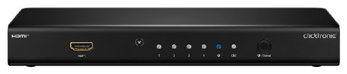 Clicktronic Advanced HDMI Switch (4 IN/1 OUT, Full HD, 3D-TV)