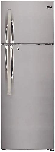 LG 260 L 3 Star Inverter Frost-Free Double Door Refrigerator (GL-T292RPZN, Shiny Steel)
