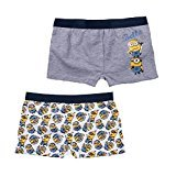 Minion Boxer Short Doppelpack 2016 Kollektion Herbst Winter, Gelb, 8
