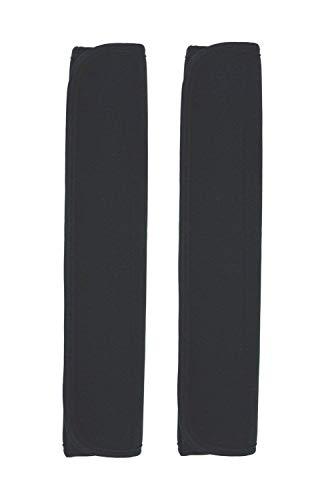Case Wonder 1 Paar 2 Schwarz Mehrzweck Komfort Schulterpolster Schultergurt Pads für Laptop / Messenger / Boxen / Reisetasche / Auto Sicherheitsgurte Schützen Pads - Laptop Anpassen