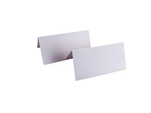 Tischkarten blanko, 50 Stück