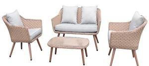 GTR Set Sofa 'kvar beige (Loveseat Sofa Sofa Set)