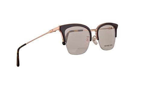 Michael Kors MK3029 Costa Rica Eyeglasses 51-19-140 Shiny Rose Gold w/Demo Clear Lens 1108 MK 3029