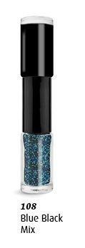 ongle Duo Caviar Ongles Multicolore Couleurs - 108 bleu-noir mélange