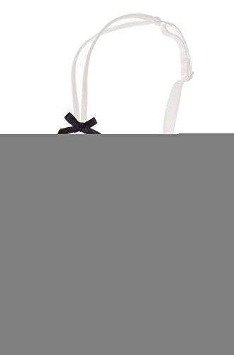 Intimate Portal Damen Lumiere Spitze Ungefütterter Balconette BH und Panty Set Weiß