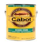 Cabot Stains 1406-GAL Deck & Siding Stain Oil Formula with