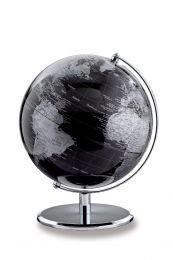 emform Tischglobus Darkchrome Planet, Aluminium & Kunststoff, 250 x 300 mm
